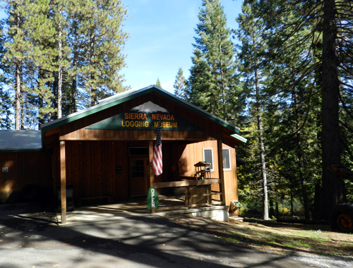 Sierra Nevada Logging Museum in Arnold, California