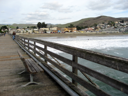 Cayucos: Beach Town Viewed From the Cayucos Pier