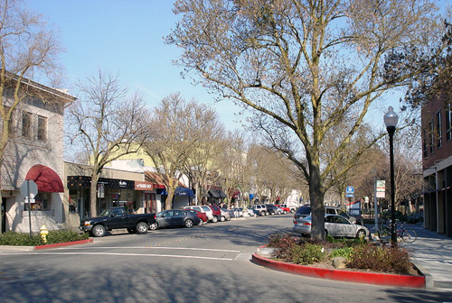 Davis California Downtown