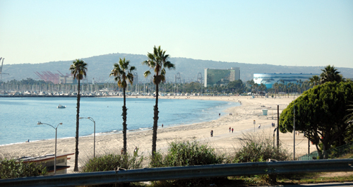 Long Beach Beach in Los Angeles County