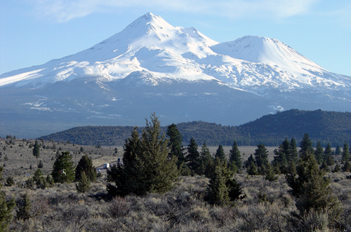 Shasta Cascade Region of Californial