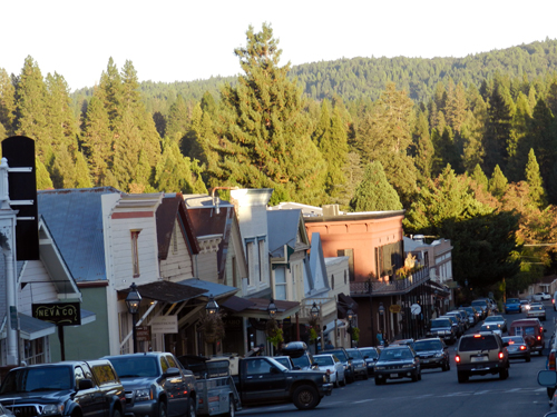 Nevada City: Historic Downtown District