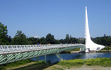 Sundial Bridge over the Sacramento River