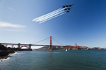 Air Show Over San Francisco