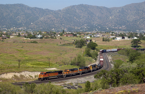 Tehachapi Pass Railraod