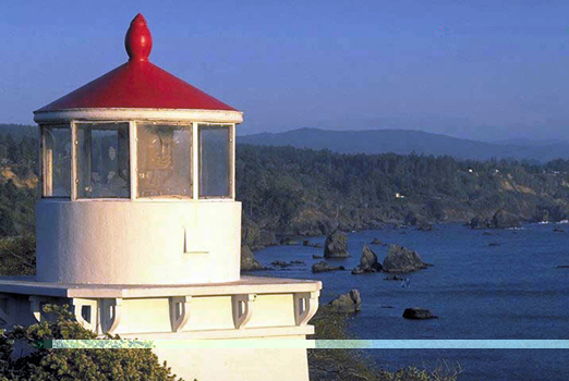 California Lighthouse: Trinidad Memorial