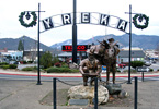 Yreka Town in Northern California